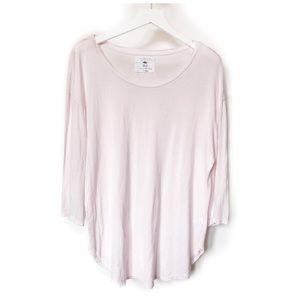 Velvet  for Calypso st Barth pale pink top.